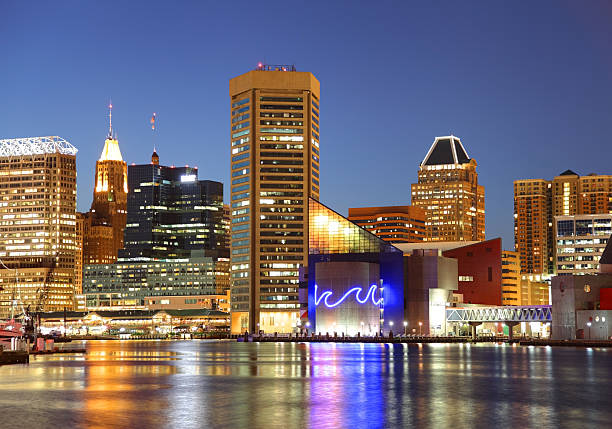Baltimore's Inner Harbor Baltimore's Inner Harbor is the city's premier tourist attraction and one of the city's crown jewels inner harbor baltimore stock pictures, royalty-free photos & images