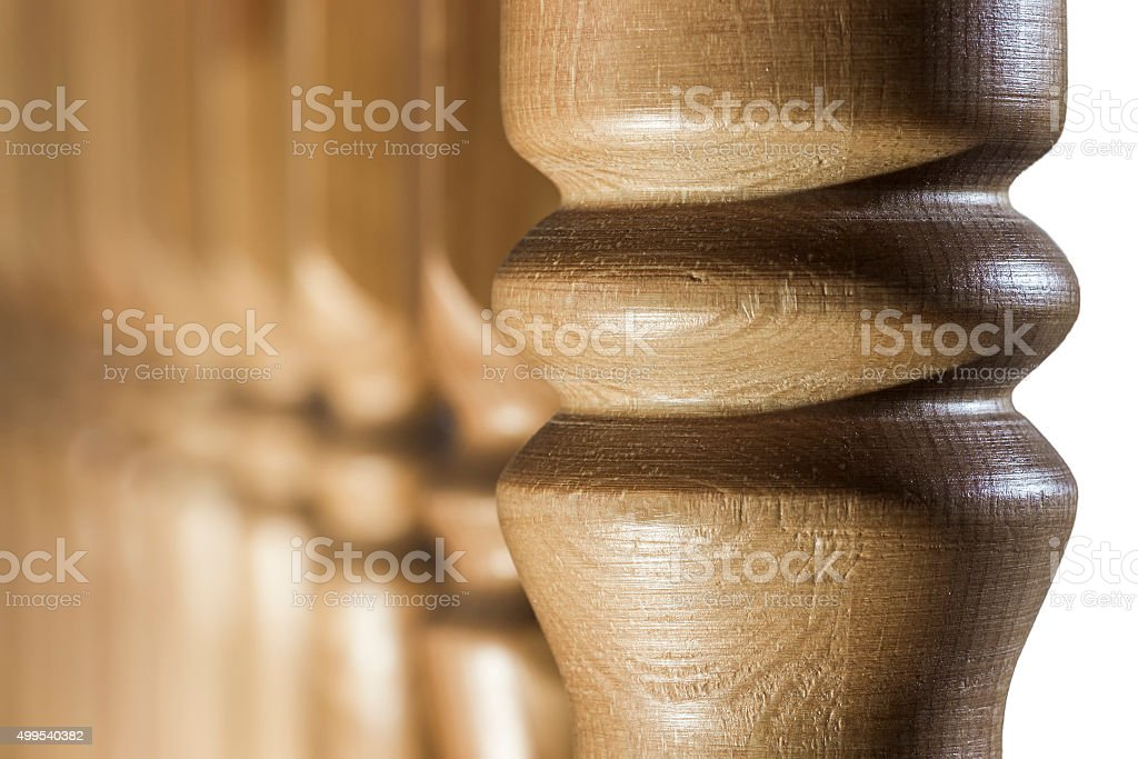 Baluster closeup stock photo