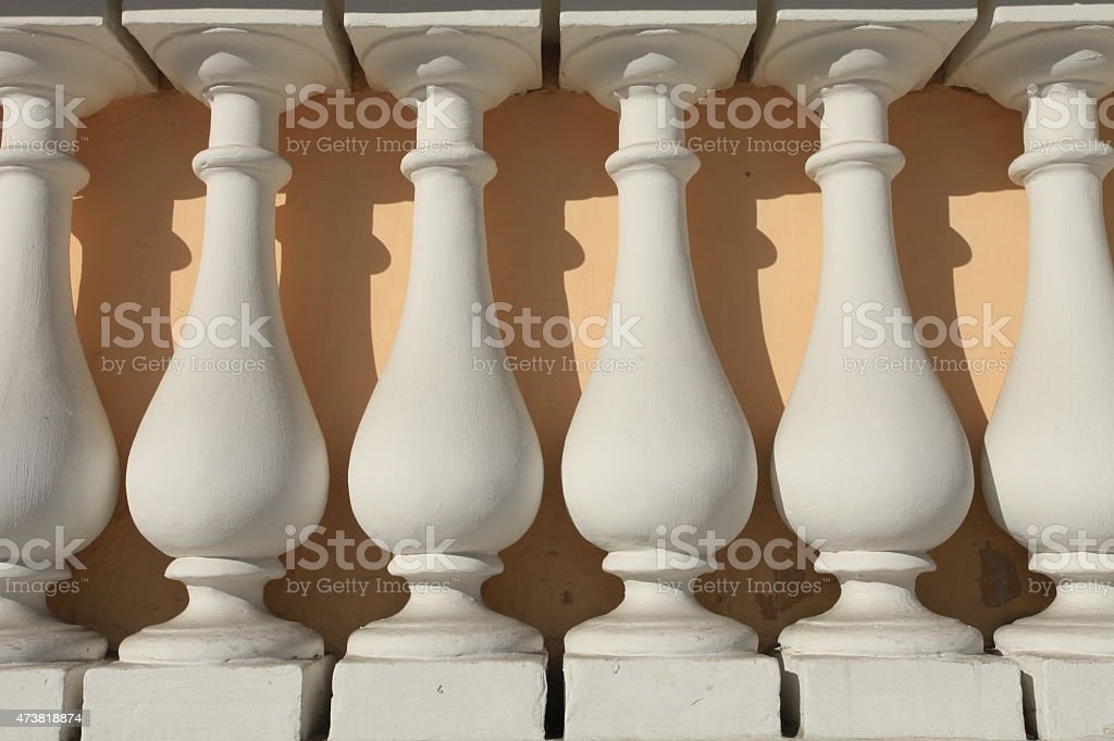 balusters stock photo