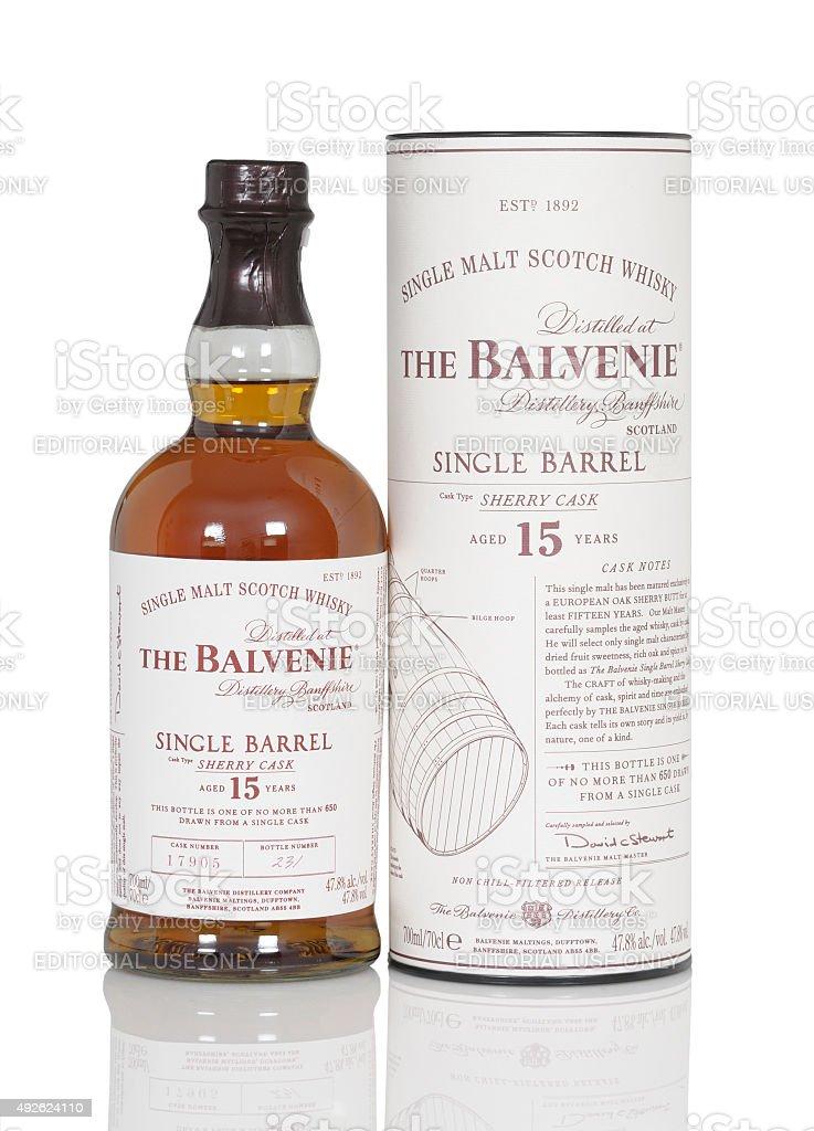 Balvenie stock photo
