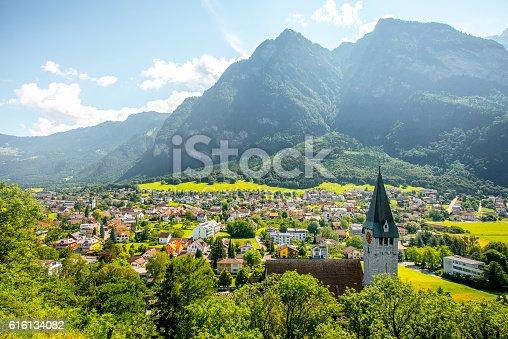 istock Balzers village in Liechtenstein 616134082