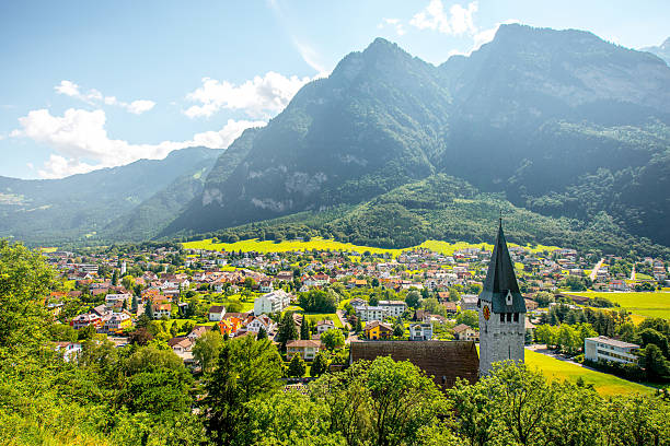 Balzers village in Liechtenstein – Foto
