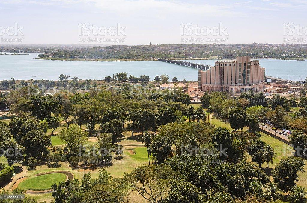 Bamako in Mali stock photo