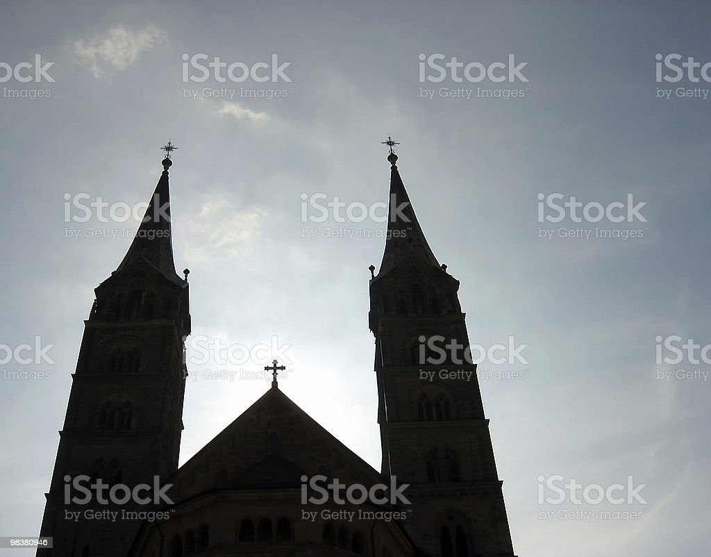 Bamberg Cathedral, Bavaria, Germany royalty-free stock photo