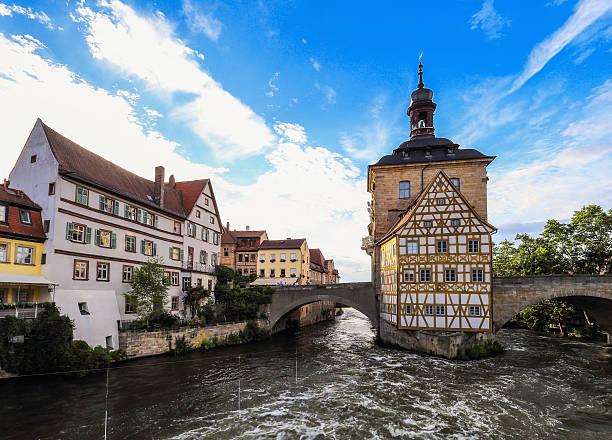 Bamberg City Hall auf einem warmen Sommertag – Foto
