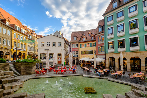 Bamberg, Fruit Market (Bavaria, Germany)