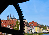 The Michaelsberg Abbey in Bamberg in Spring.