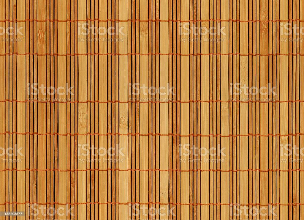 Bambo Mat (Seamless) stock photo