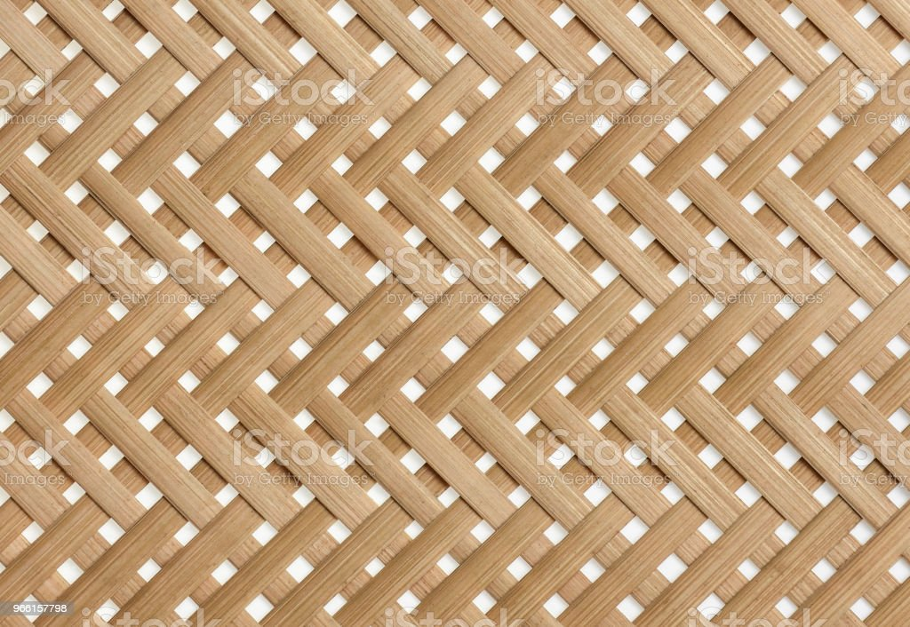 Bamboo basketry texture background. - Royalty-free Abstract Stock Photo