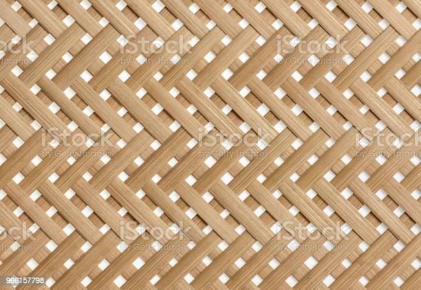 Bamboo Korgflätning Textur Bakgrund-foton och fler bilder på Abstrakt