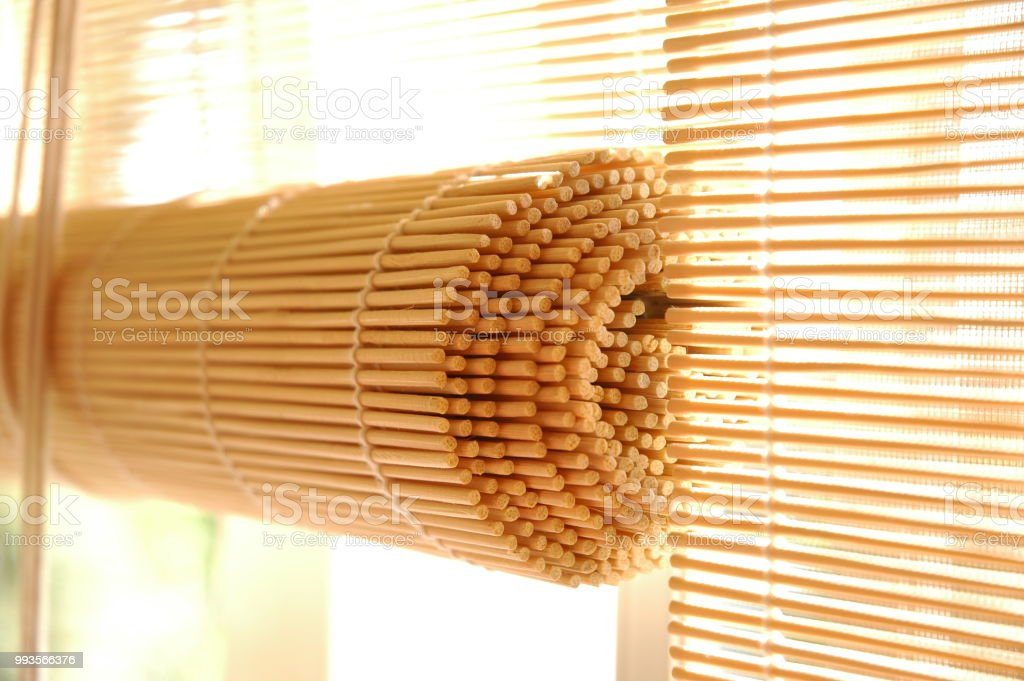 Bamboo Blind Close Stock Photo Download Image Now Istock