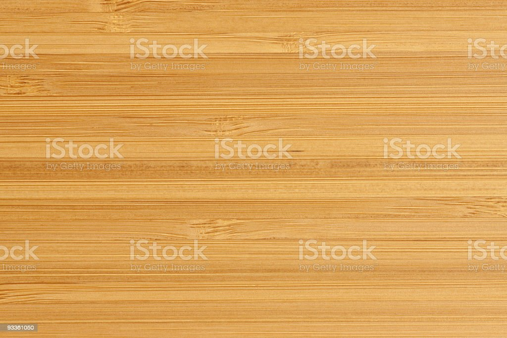 A bamboo board with smooth surface stock photo