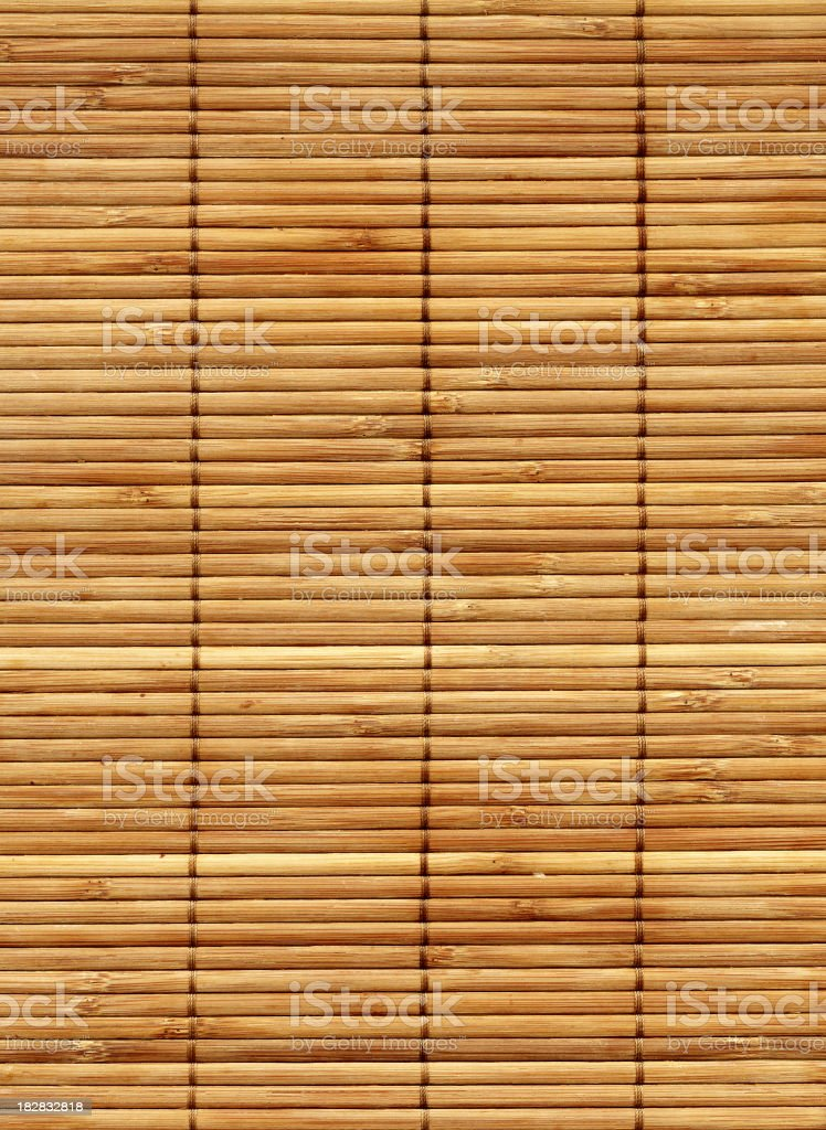 Bamboo cane matting stock photo