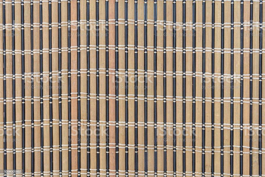 Bambus Vorhang Japanische Kultur Hintergrund Und Textur Stockfoto