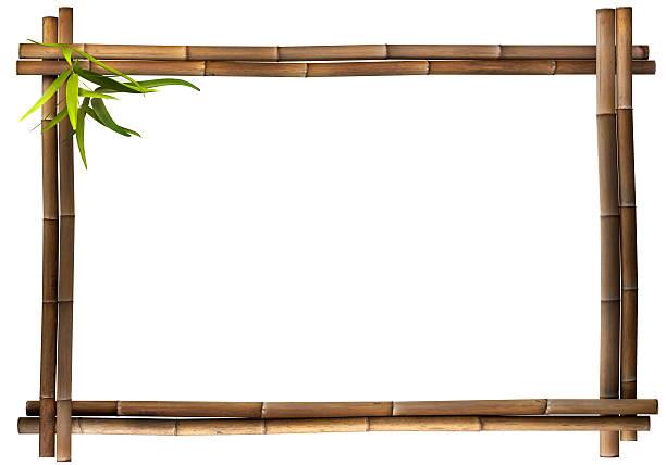 Bastidor de bambú - foto de stock
