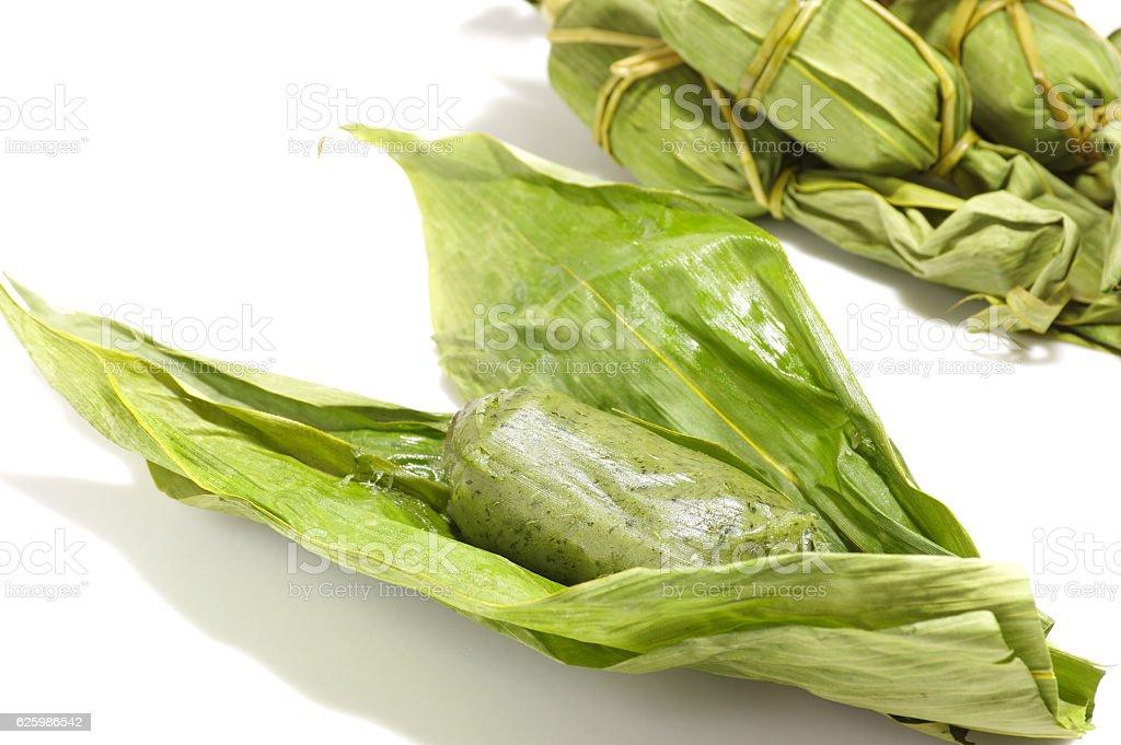 Bamboo grass dango ストックフォト