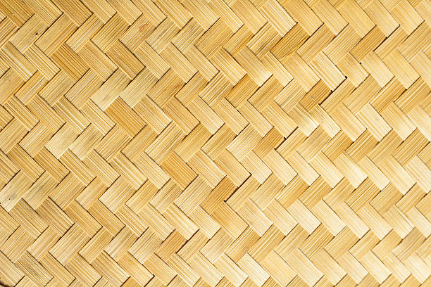 bamboo handcraft background bamboo handcraft background bamboo material stock pictures, royalty-free photos & images