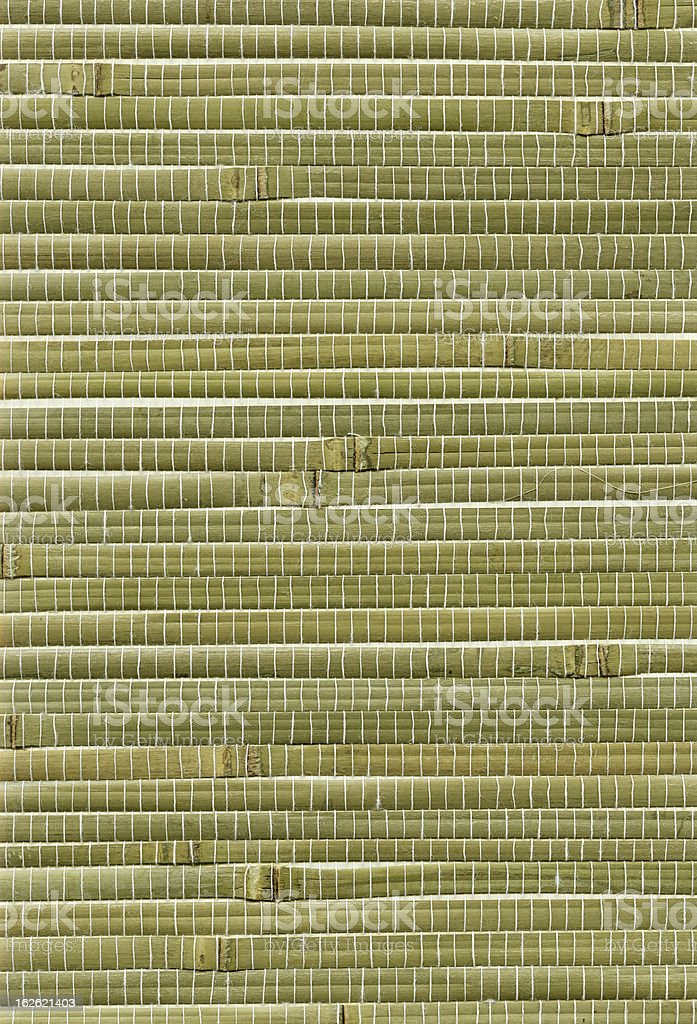 Bamboo Mat background royalty-free stock photo