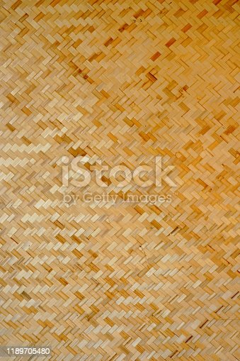 Abstract background texture of rattan, bamboo, old walls.