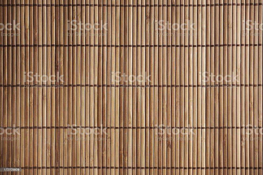 Bambus-Matte Lizenzfreies stock-foto