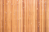 Tropical bamboo mat wall texture background