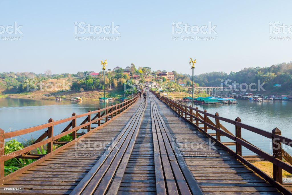 Bamboo - Material, Bridge - Built Structure, Capilano Suspension Bridge stock photo