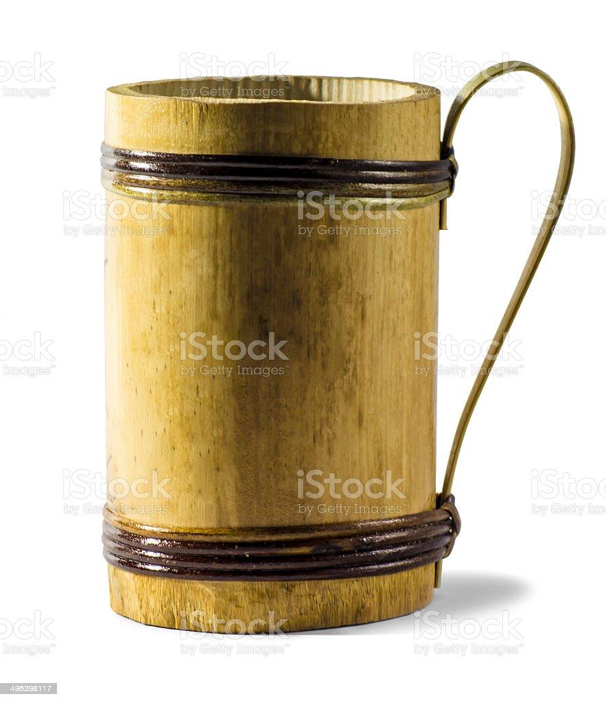 Bamboo Mug stock photo