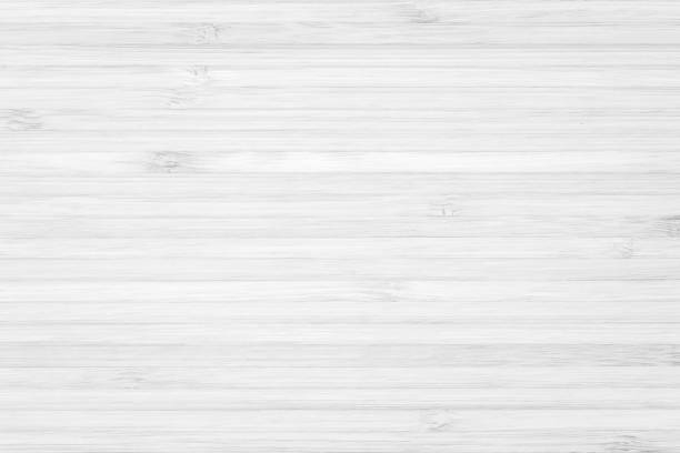 bamboo natural wood texture pattern background in white grey color - bianco foto e immagini stock