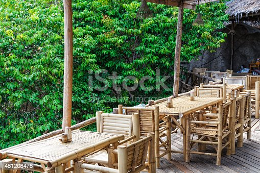 istock Bamboo patio 481208478