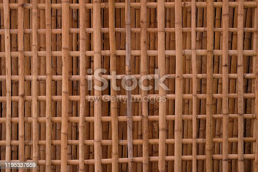Bamboo pattern background and texture