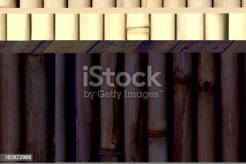 Japanese bamboo background.