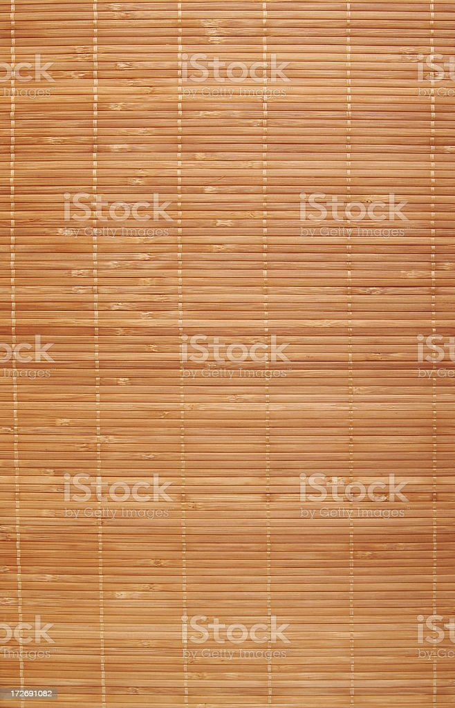Bamboo placemat royalty-free stock photo