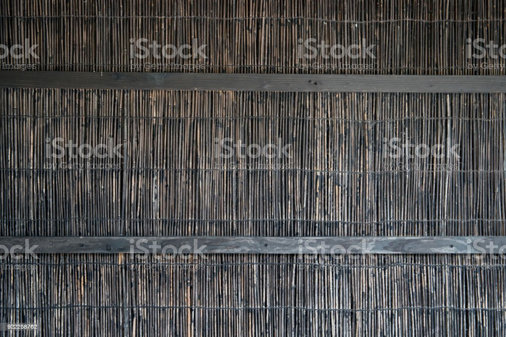 bamboo straw. Background texture. stock photo