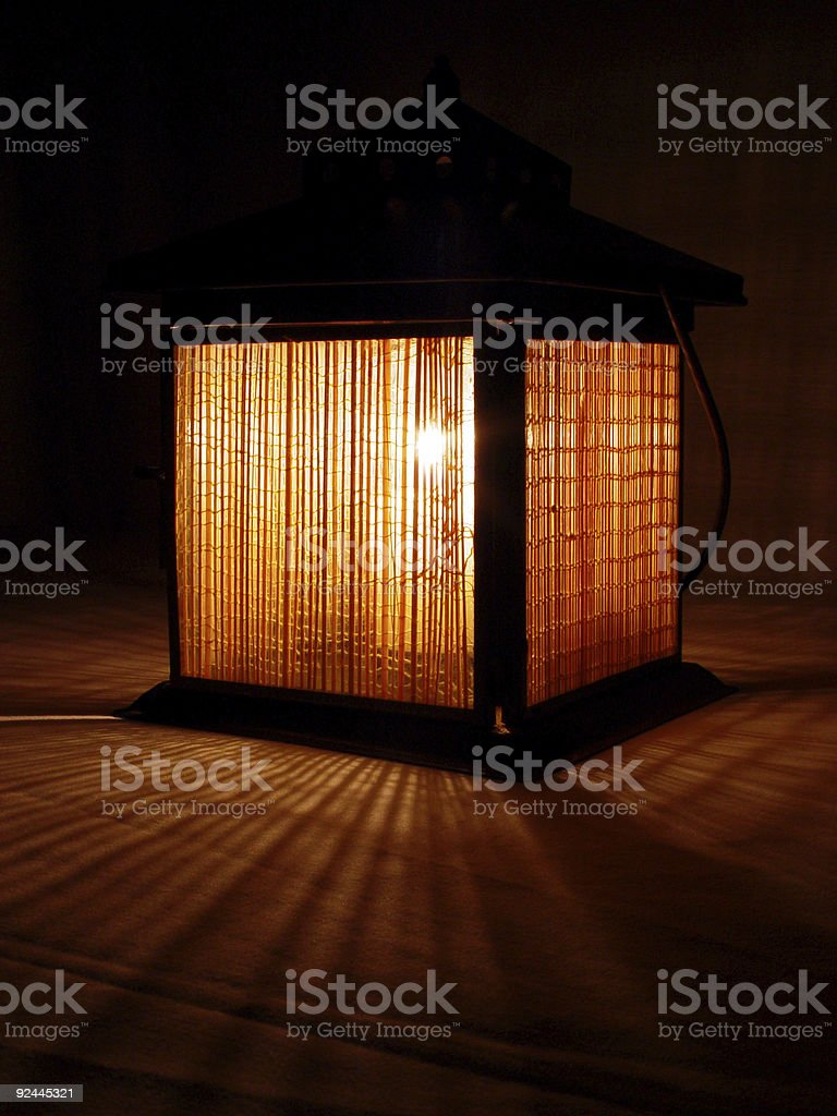 bamboo sunrise 4 royalty-free stock photo