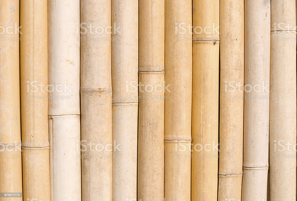 bamboo texture, architecture decoration in asia. royalty-free stock photo