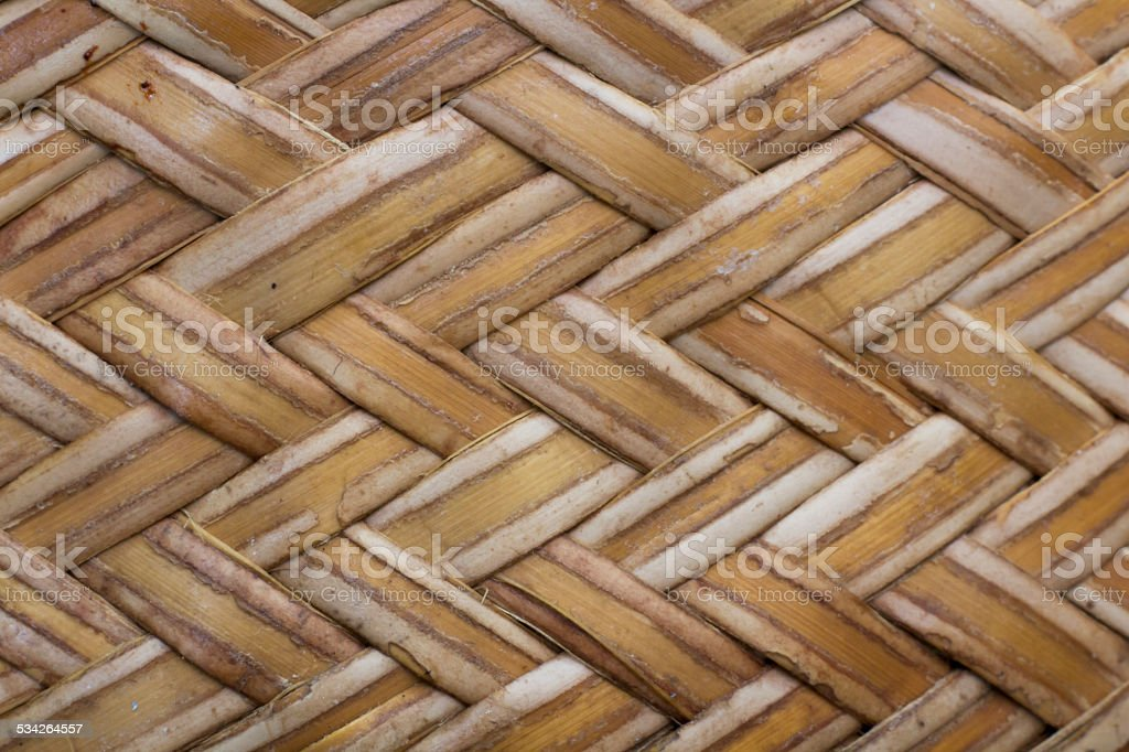 bamboo texture, thailand culture stock photo