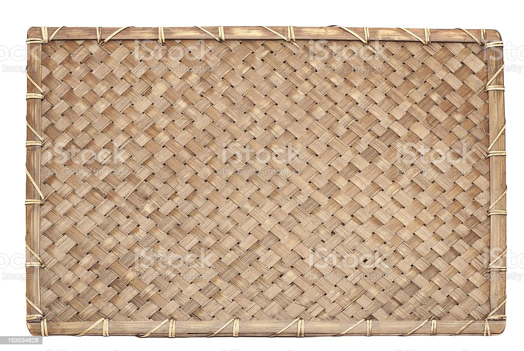 bamboo textured royalty-free stock photo