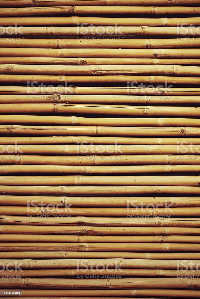 Bamboo wall royalty-free stock photo