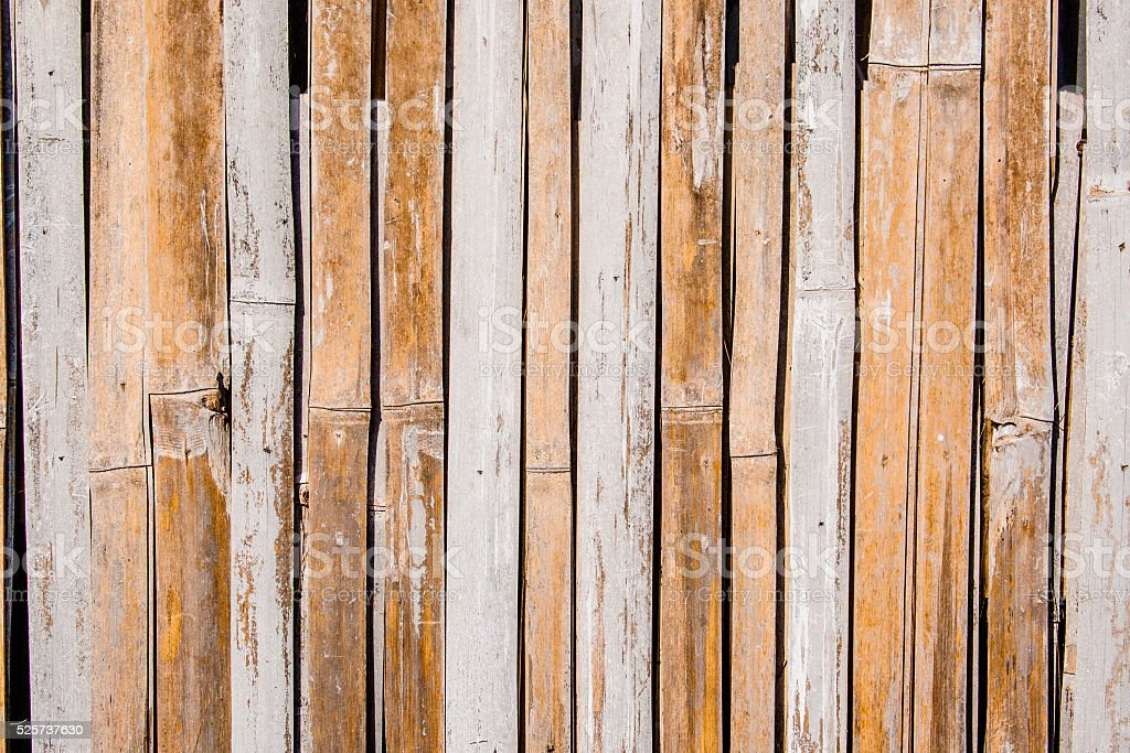 Bamboo Wall, texture stock photo