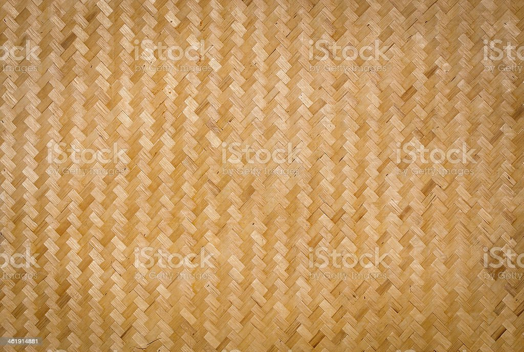 Bamboo Weave background stock photo