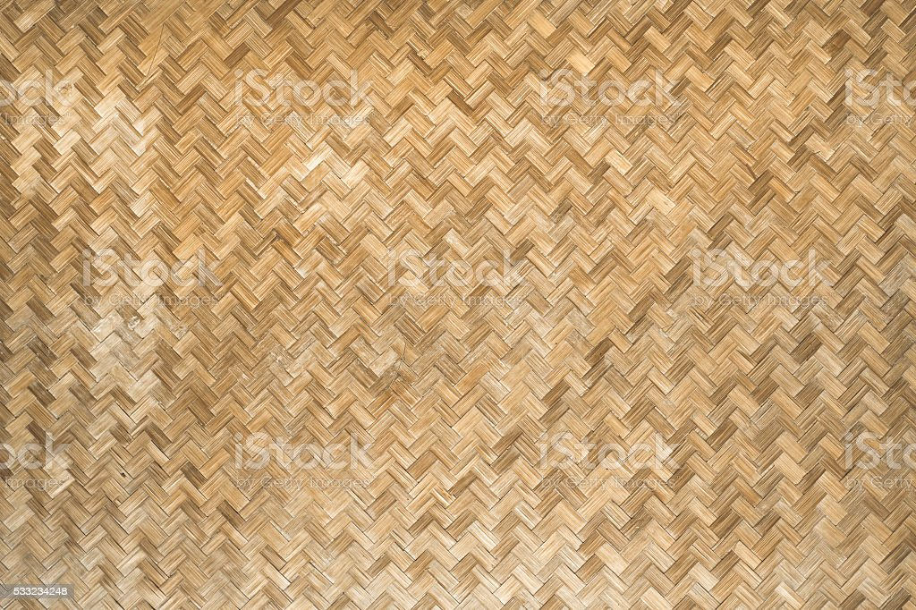 Bamboo weave background