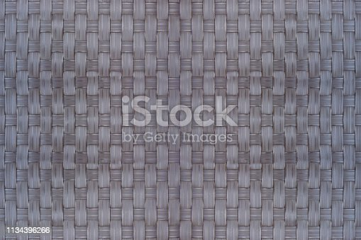 Bamboo wicker texture and background is used as a material for storing dry food.