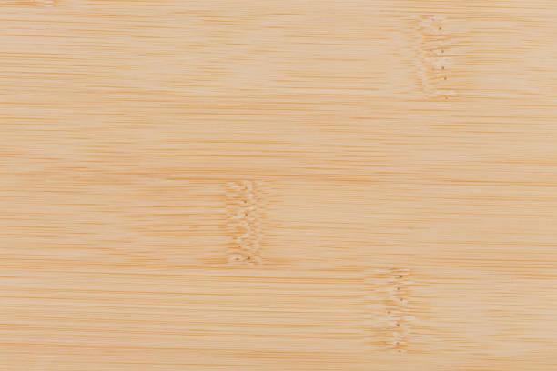 Bamboo wood background texture on macro stock photo