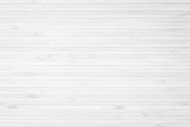 Bamboo wood laminated board detailed texture pattern background in white gray color Bamboo wood laminated board detailed texture pattern background in white gray color bamboo material stock pictures, royalty-free photos & images