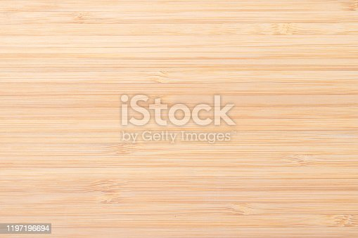 Bamboo wood texture background in creme beige color