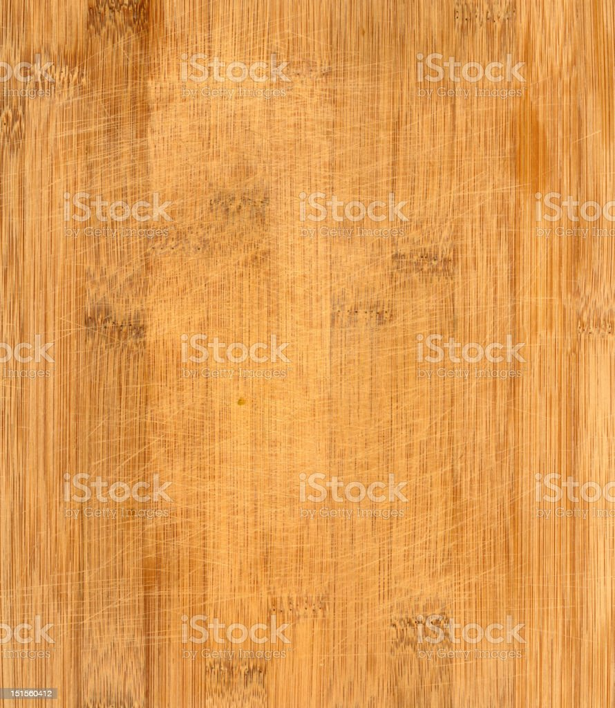 Bamboo Wooden Cutting Board Texture royalty-free stock photo