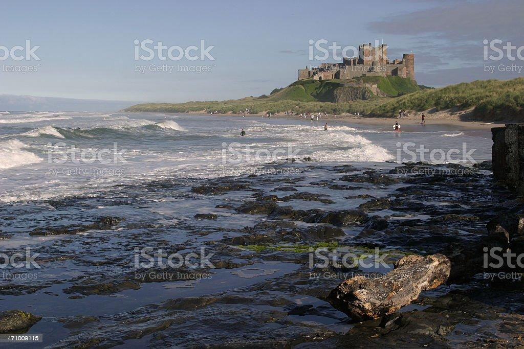 Bamburgh Castle II stock photo
