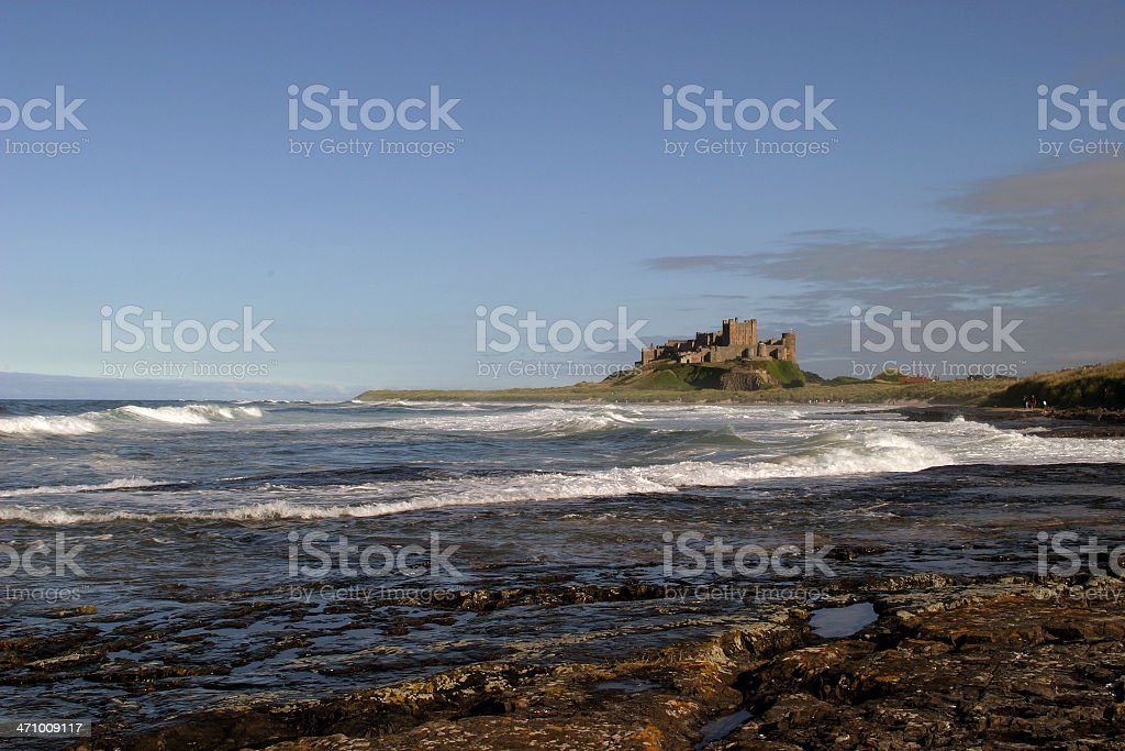 Bamburgh Castle III royalty-free stock photo