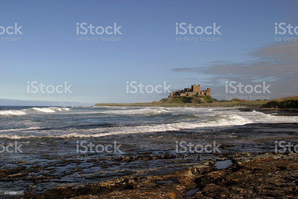 Bamburgh Castle III stock photo