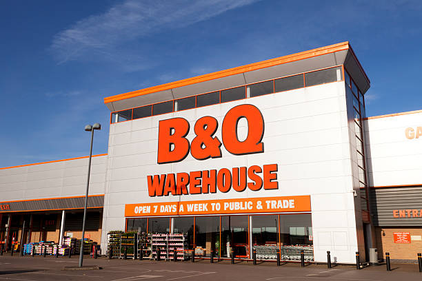 B&Q Warehouse, Stairfoot, Barnsley, South Yorkshire stock photo